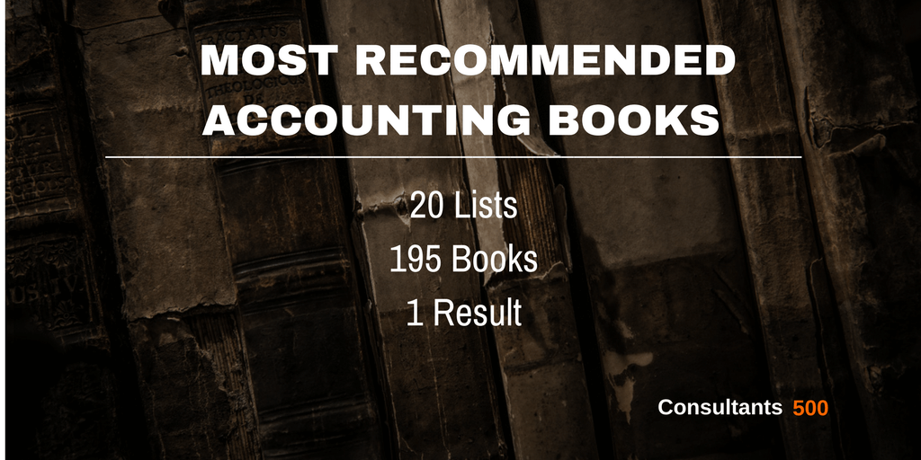 Top 15 Accounting Books Recommended Most Times by Business