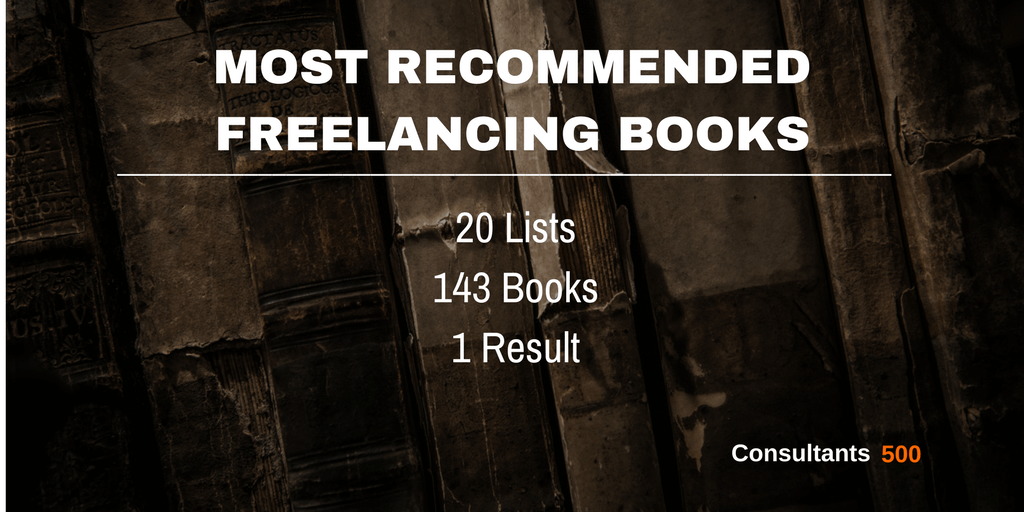 Top 20 Most Recommended Freelancing Books