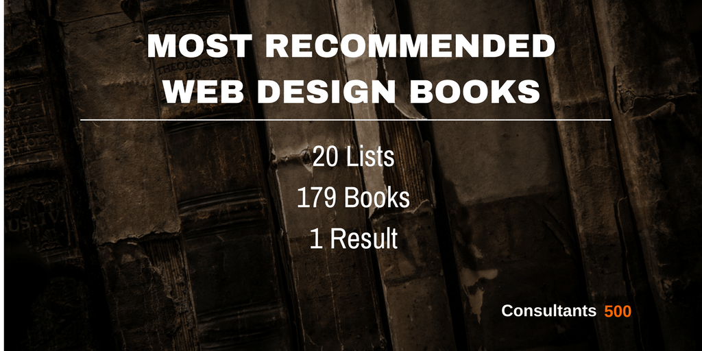 Top 20 Of Best Web Design Books Recommended Most Times By Web Design Pros