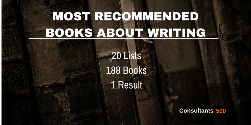 Top 20 Of Best Books For Writers