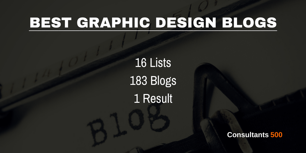 Top 20 Of Most Recommended Graphic Design Blogs