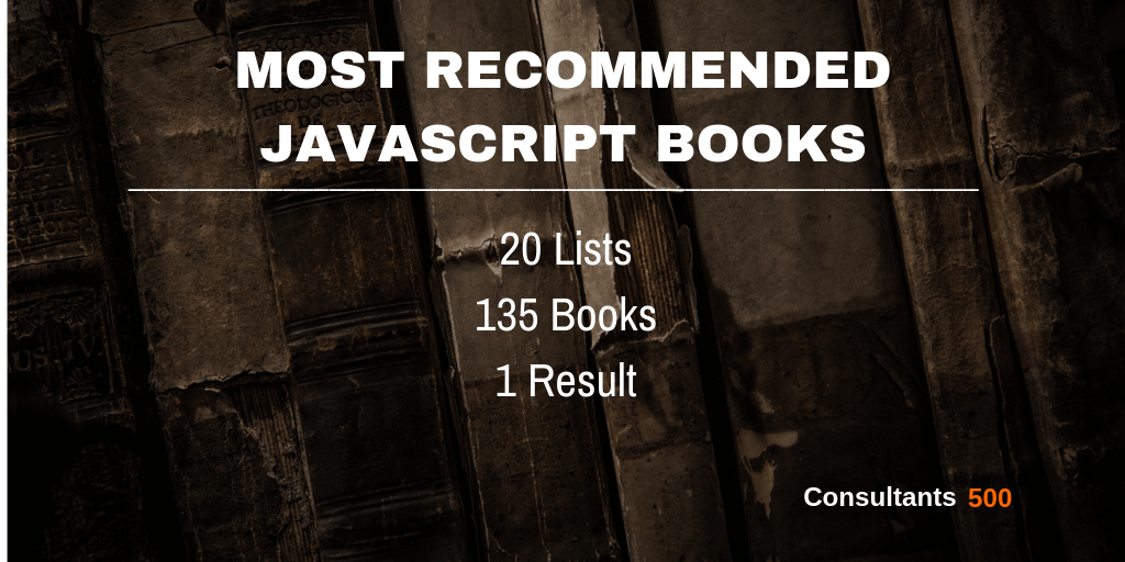 Top 20 of Best JavaScript Books Recommended Most Times by